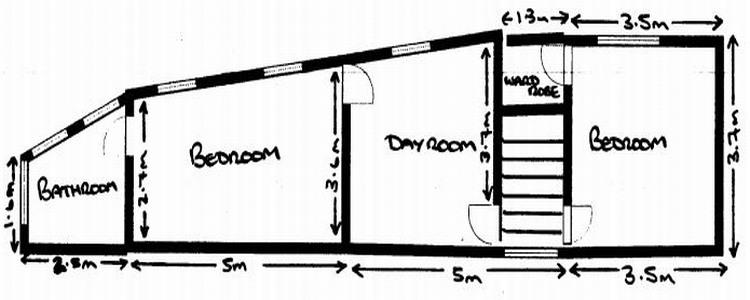Springfield Cottage first floor plan